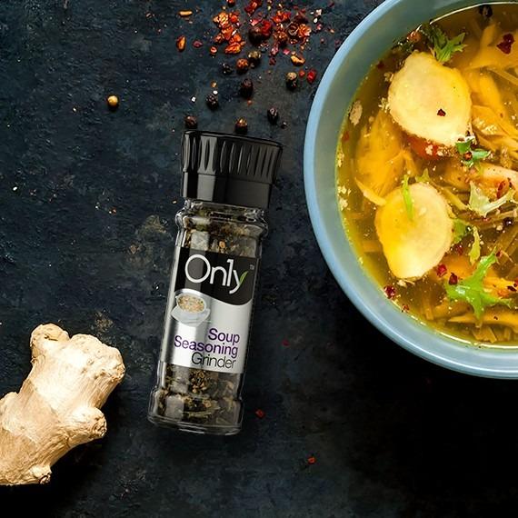 On1y Soup Seasoning Grinder