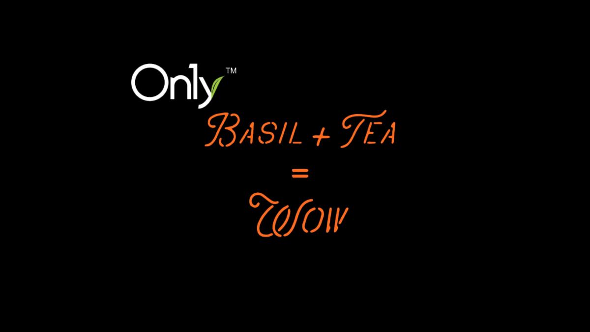 Basil + Tea = wow