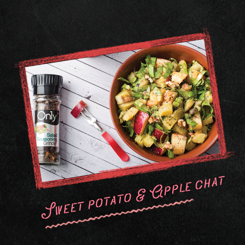 Sweet potato and apple chat